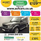 2016 GREY LAND ROVER DISCOVERY 4 30 SDV6 LANDMARK CAR FINANCE FR 129 PW