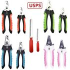 Small Large Dog Pet Grooming Toe Nail Clippers Trimmer Scissors with Nail File