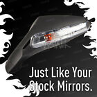 VAWiK OEM replacement LED fairing mirror black for Gilera SC125 x1 LEFT HAND