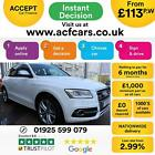 2014 WHITE AUDI SQ5 30 BITDI QUATTRO DIESEL AUTO ESTATE CAR FINANCE FR 113 PW