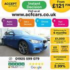 2017 BLUE BMW 335D 30 XDRIVE M SPORT DIESEL AUTO SALOON CAR FINANCE FR 121 PW