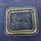 Vintage Federal Glass Fruit Refrigerator Dish Storage Box Lid 1 Piece Only