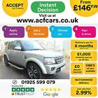 2014 GOLD LAND ROVER DISCOVERY 4 30 SDV6 HSE LUX DIESEL CAR FINANCE FR 146 PW