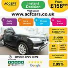 2013 BLACK RANGE ROVER SPORT 30 SDV6 HSE DIESEL AUTO CAR FINANCE FR 158 PW