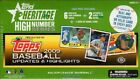(1) 2009 Topps Heritage High Number Series Baseball Factory Sealed Hobby Box