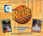 2012-13 Fleer Retro Factory Sealed Basketball Hobby Box (20 Packs- 6 Autographs)