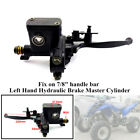 ATV Left Hand Hydraulic Brake Master CylinderStrength Handle Lever Fit 50 150CC