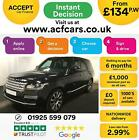 2014 BLACK RANGE ROVER 44 SDV8 VOGUE SE DIESEL AUTO 4X4 CAR FINANCE FR 134 PW