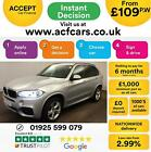 2016 SILVER BMW X5 20 SDRIVE25D M SPORT DIESEL AUTO 4X4 CAR FINANCE FR 109 PW