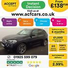 2017 BLACK BMW X5 30 XDRIVE40D M SPORT 7 SEAT DIESEL 4X4 CAR FINANCE FR 138 PW