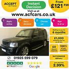 2016 BLACK LAND ROVER DISCOVERY 4 30 SDV6 LANDMARK CAR FINANCE FR 121 PW