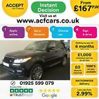 2016 BLACK RANGE ROVER SPORT 30 SDV6 AUTOBIOGRAPHY DYN CAR FINANCE FR 167 PW