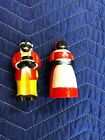 Vintage Black Americana Aunt Jemima and Uncle Mose Salt and Pepper Shakers