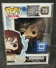 Funko Pop DC Aquaman (Near Mint) # 210 Justice League Exclusive (Protector) No.2