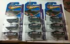 Hot Wheels 2013 67 Summit Camaro 244 250 HW Showroommetal base lot of 9