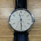 Used Nomos Tangente 38mm Hand-winding Wristwatch With Box Rare