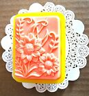 Silicone Flower Honeybee Soap Mold Bee Candle Mould Sunflower Single