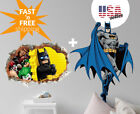 Large Batman  LEGO Wall Stickers 2 PACK Removable Decal Kids Nursery Baby Decor