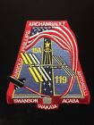 STS 119 SPACE SHUTTLE DISCOVERY MISSION PATCH WAKATAS NAME IN BOTTOM EDGE