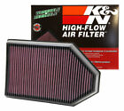 K&N 33-2460 Replacement Air Filter 2011-2019 Dodge Challenger Charger 300C