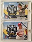 2016 Topps Fan Fest Exclusive All Star Patch Relics Bryce Harper Mike Trout 150