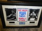 MUHAMMAD ALI & ROCKY MARCIANO HEAVYWEIGHT SUPERFIGHT FRAMED COLLECTION