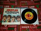 The Beatles 45 record ALL YOU NEED IS LOVE Capitol 1967 picture sleeve