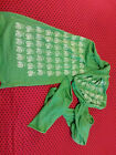 Vintage Green A Little Lark Bicycle scarf shawl Cycling clothing retro ladies vg