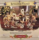 Grandeur Noel 2001 Bethlehem Nativity Set Collectors Edition