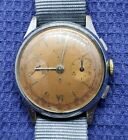 Vintage Butex BWC Chronograph Watch Copper Dial
