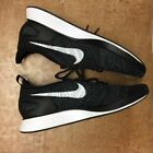 Nike Womens Womens Air Zoom Mariah FK Racer Knit Lace up SNEAKERS Black white 8