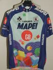 Bike Cycling Jersey Shirt Cyclism Maillot Team Mapei Latexco Sportful Size L