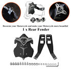 Aluminum Alloy Plastic Mudguard Motorcycle Rear Fender Mud Dust Wheel Splash Kit