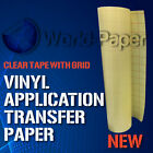12 Roll Clear Transfer Tape With Grid For Adhesive Vinyl