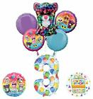 Mayflower Products Beanie Boos 3rd Birthday Party Supplies Balloon Bouquet De...