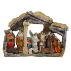 Northlight 18 Religious Christmas Nativity with Stable House Decoration