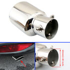 25 63 mm Car Exhaust Pipe Tail Tip Rear Muffler End Silencer Cover Trim Steel