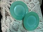 Fire King Oven Ware Jadeite Jadite Jade-ite Green Glass Small Plates Lot of 2