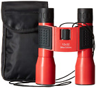 Binoculars for Women Small Lightweight Compact Powerful Red 12 x 32 for in