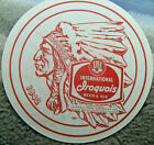 Vintage Iroquois Beer two sided advertising sign blotter beer tray liner