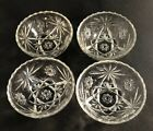 EAPC Early American Prescut Cereal Soup Bowls Star of David (4)