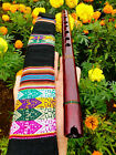 NATIVE AMERICAN STYLE FLUTE MAHOGANY IN G 440 Hz  BAG 6 HOLES BAG Reg 225 NEW