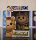 Funko Pop! Cowardly Lion FLOCKED Gemini Collectibles Exclusive Wizard of Oz RARE