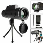 40x60 HD Zoom Optical Monocular Telescope Lens Observing Survey Camp Monoculars