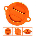 Motorcycle Engine Oil Filter Cover For KTM 125 200 390 690 duke LC4 Supermoto