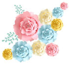 20 30 40cm Paper Flowers Backdrop for Wall Decoration Large Rose Flower Wedding