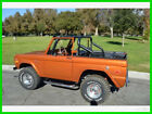 1973 Ford Bronco 1973 Ford Bronco Automatic 4WD Pickup Truck New Windsor Motor with 1375 Miles