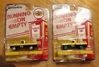 LOT OF 2 Pennzoil Ford trucks. 1/64 Greenlight Chase die cast diorama texaco