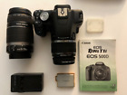 Canon Rebel T1i EOS 500D DSLR with 2 lenses and accessories