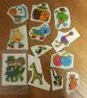 Vintage 80s Stickers Puffy Smurfs Rainbows Animals Sports 100 and Up